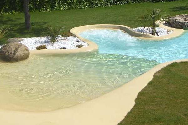 Dise o y construcci n de piscinas de arena premix marbletite for Piscina de arena construccion