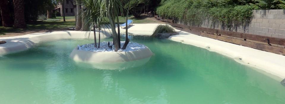 Dise o y construcci n de piscinas de arena premix marbletite - Piscinas de arena precios ...
